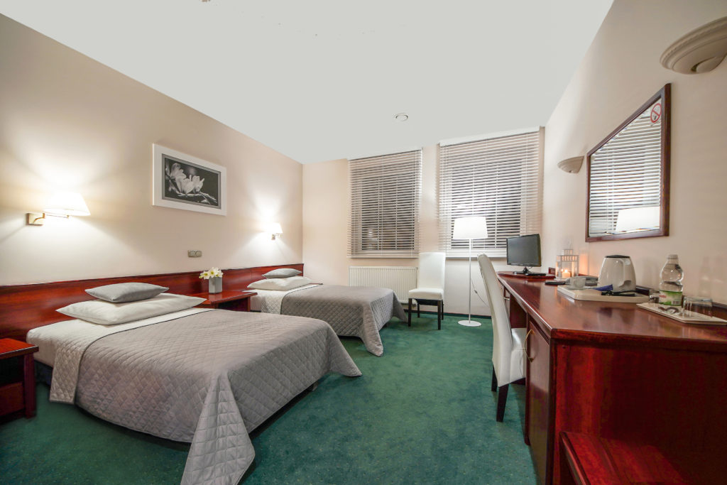 SUPERIOR* double room<br>(two single beds)